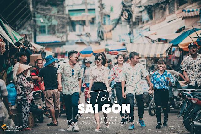 mẫu chụp ảnh kỷ yếu - kỷ yếu Sài Gòn