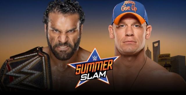 Jinder Mahal SummerSlam Opponent