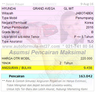 Pinjaman-163-2Thn-HYUNDAI-GRAND AVEGA-GL MT