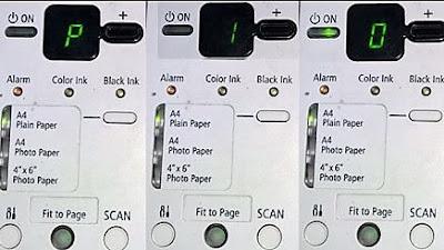 Error Code Printer Canon MP258 Dan Cara Mengatasinya