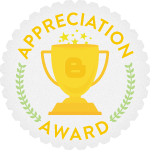 Appreciation Award +You blog is great