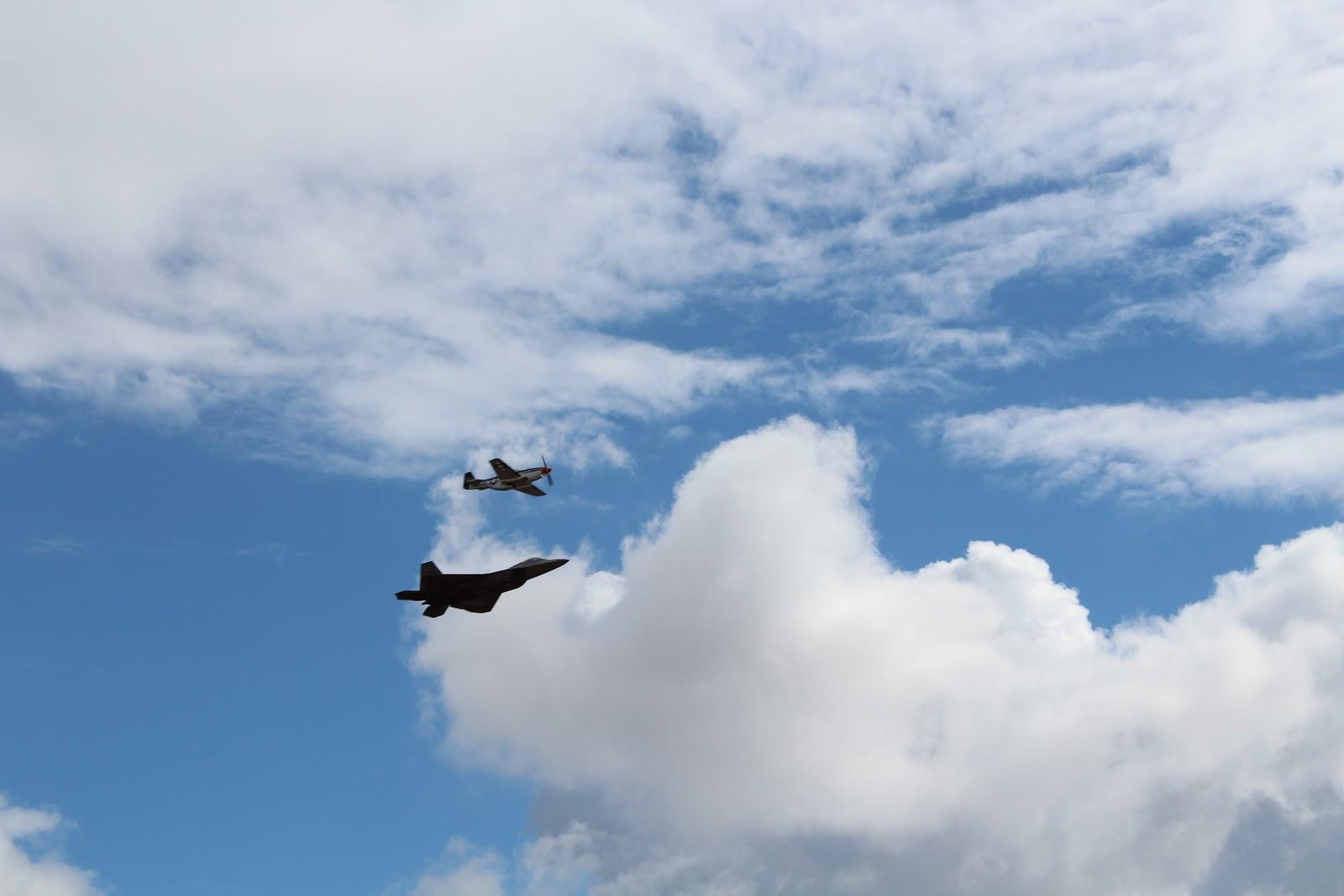 P-51 и F-22