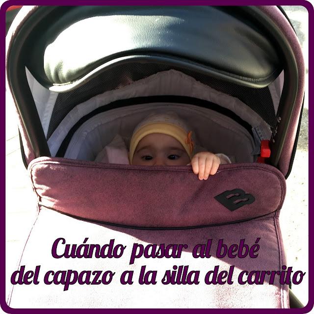 Cuándo pasar al bebé del capazo a la silla del carrito