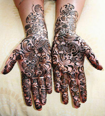 latest bridal mehndi designs 2017 for hands for full hands (7)