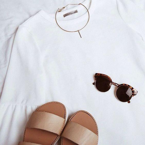 Inspiração: Look Total White!