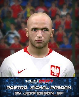 PES 2017 Faces Michał Pazdan by FaceEditor Jefferson_SF