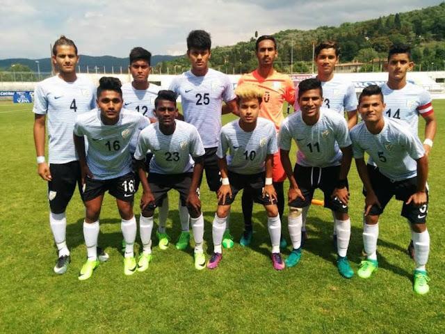India U-17 register victory over Italy U-17