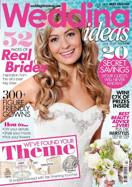 Flair Talent: Flair Shoot: Charlotte McKenna for Wedding Ideas Magazine