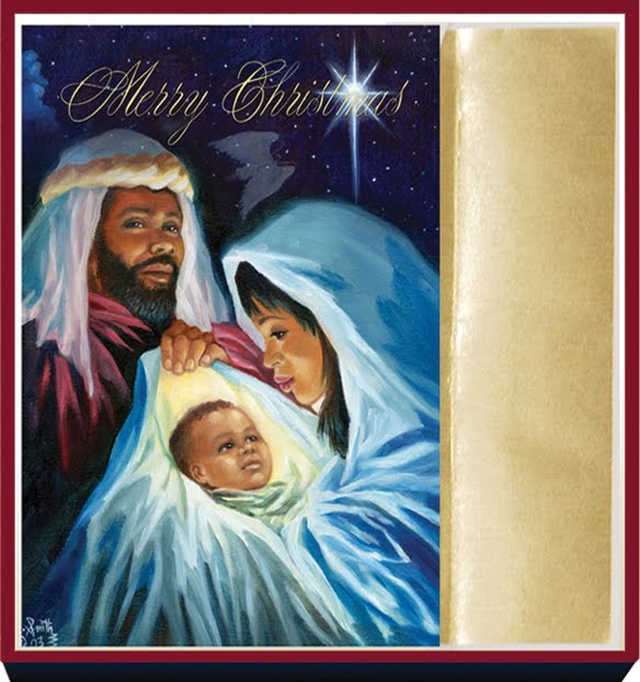 African american christmas cards the best american - African american christmas images ...
