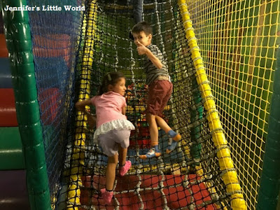 Children at soft play