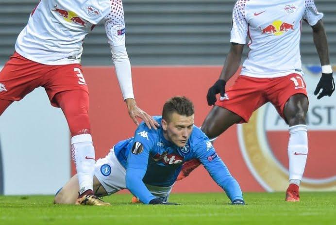 Il Napoli è stato eliminato dal Lipsia in Europa League