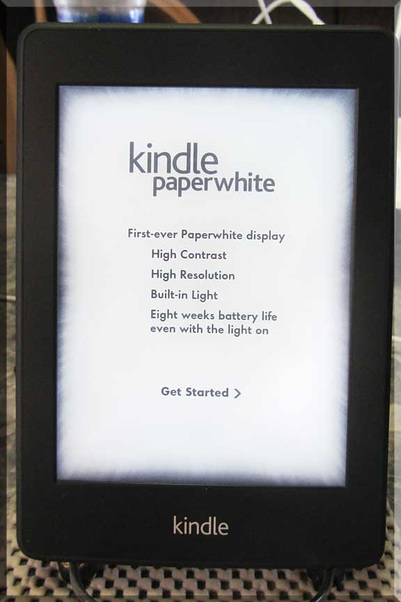 Enjoy The Journey: Kindle PaperWhite