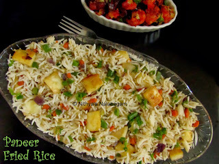 Paneer Fried Rice