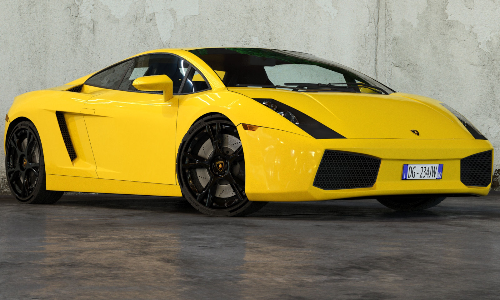 Lamborghini Gallardo 2003   Floor