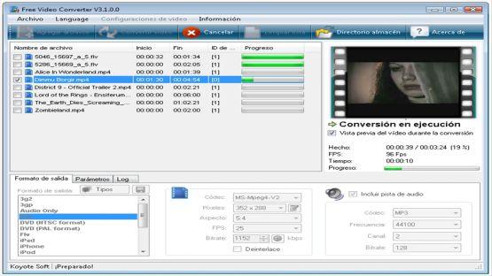 Free Video Converter screenshot 4