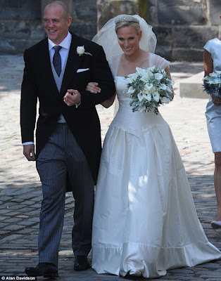 Bubba Smith Spot: Zara Phillips and Mike Tindall Wedding