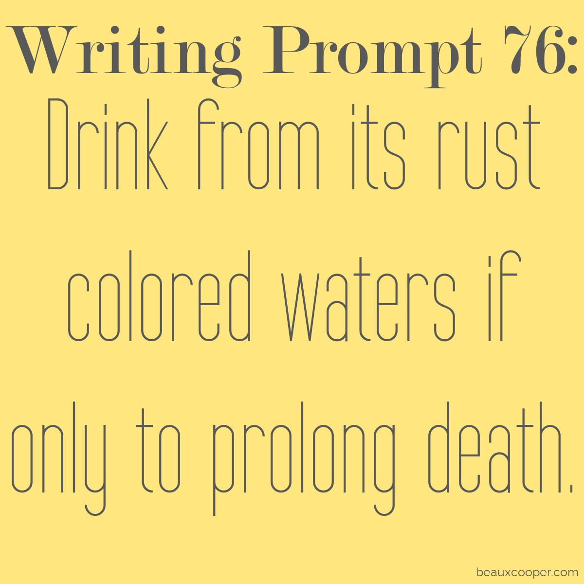 poetry writing prompts Every week we will be sharing a writing prompt from either check the method or  wordplay these workshops are developed if you write poems to these prompts.