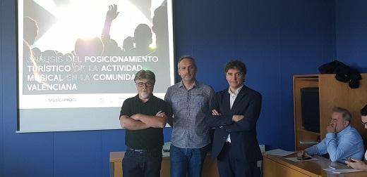 Colomer resalta el potencial del turismo musical como motor económico de la Comunitat Valenciana