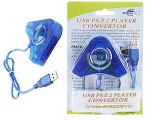 converter stik ps2 ke pc ps3 murah
