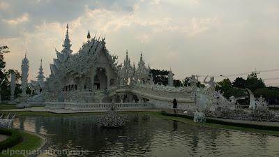 Chiang Rai, templo blanco, gastos, presupuesto, tailandia norte