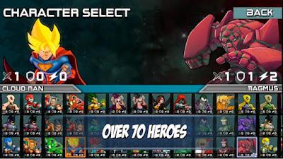 Superheros 3 Fighting Games v 1.4.1 Mod Apk (Money)
