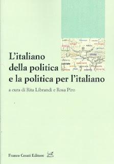 Copertina de L'italiano della politica e la politica per l'italiano