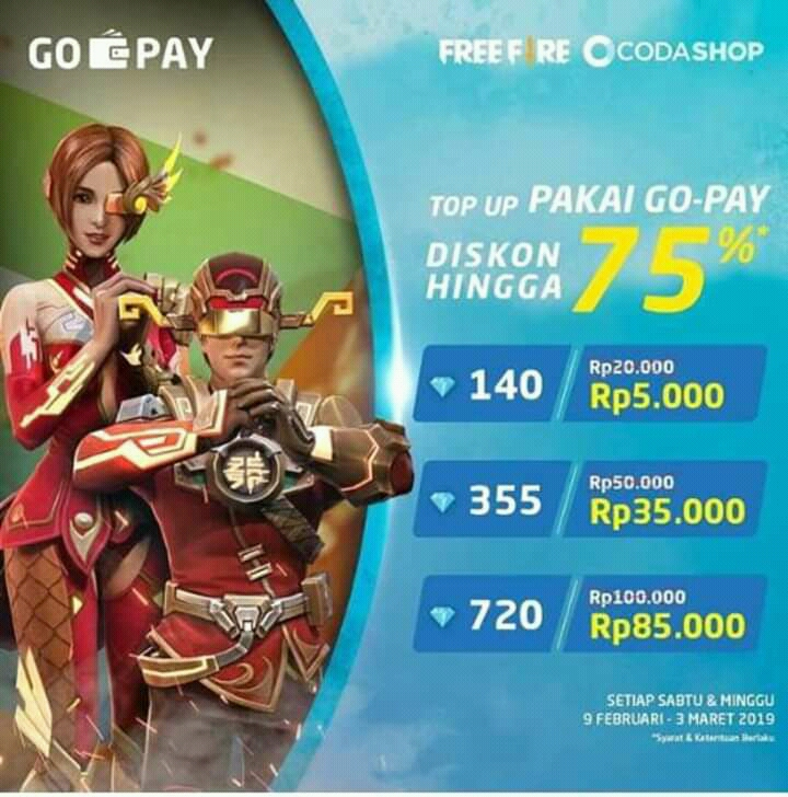 Cara Topup Diamond Free Fire Murah Di Codashop Legal Diskon 75 Alvinpedia45