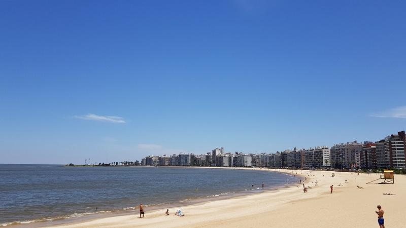 Praia de Pocitos, Montevidéu