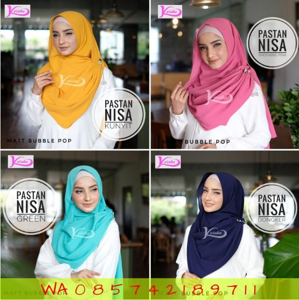 Pastan Nisa Bergo Carissa Trend Hijab 2019 Kerudung yang Lagi Hits Jaman Sekarang