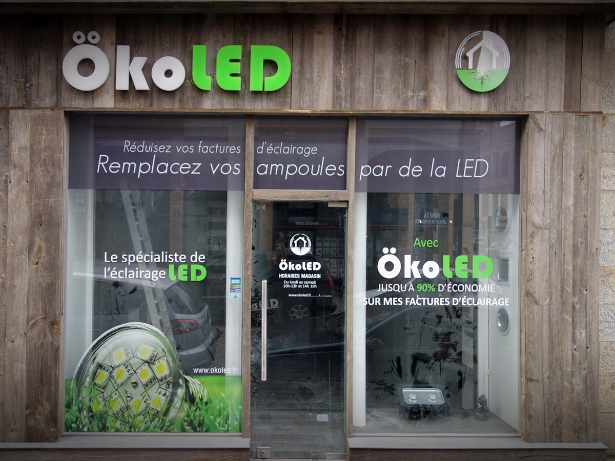ÔKOLED (Grossiste en solution d'éclairage LED) - 13, Rue du Pré Botté