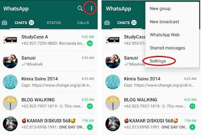 Cara Menghentikan Download Otomatis Di Aplikasi WhatsApp Pada Android