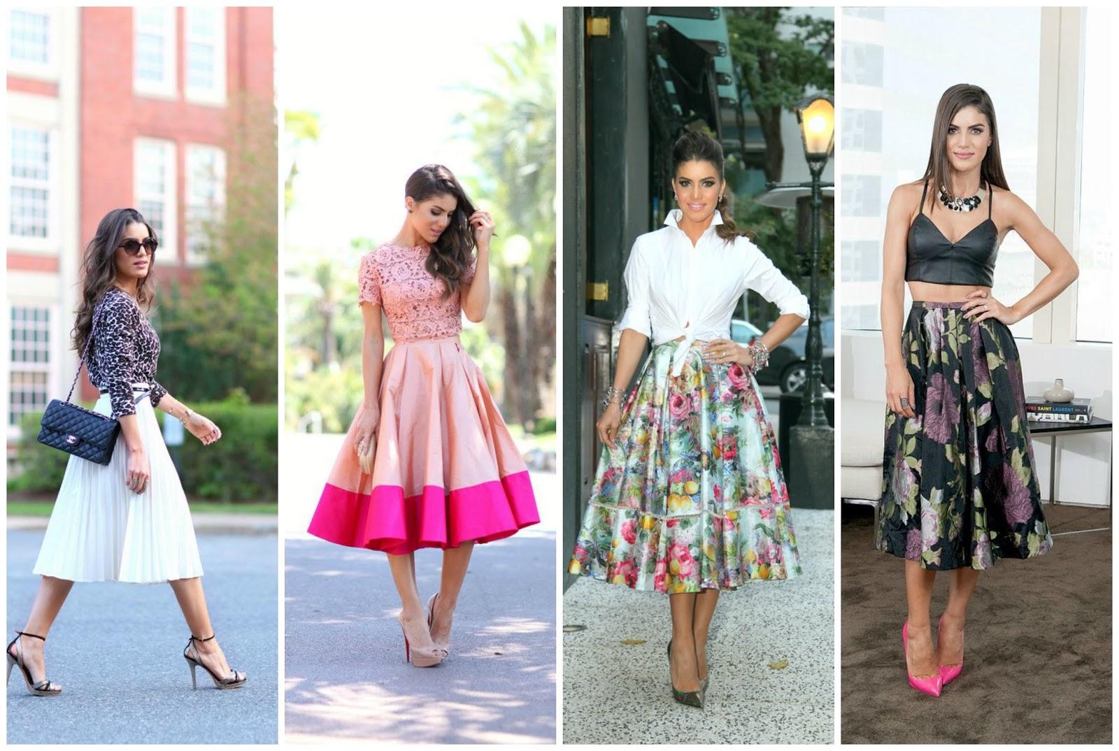 saia midi blog estilo modas e manias