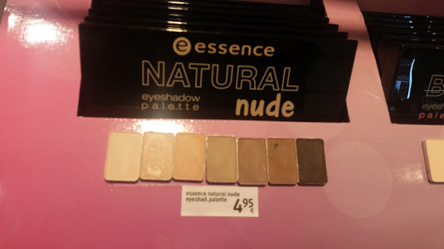 essence Master pieces Lidschatten Swatches Natural Nude