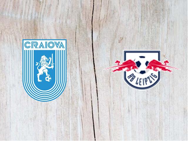 Universitatea Craiova vs RB Leipzig - Highlights - 16 August 2018