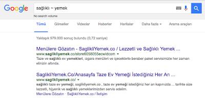 google arama yöntemleri