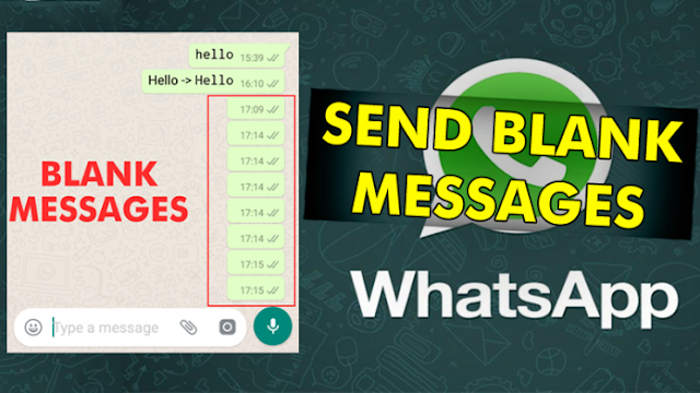 Here's The Trick To Send Blank Message In WhatsApp 1