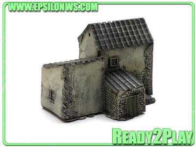 Spanish Houses 10mm REF: ESP10-02