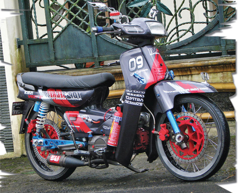 Contoh Modifikasi Motor Grand