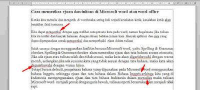 Cara Memeriksa Ejaan dan Tulisan di Microsoft Word