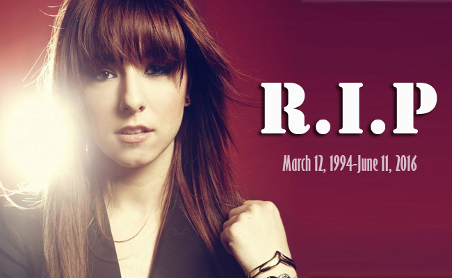 Christina Grimmie Shot dead on Show at Orlando