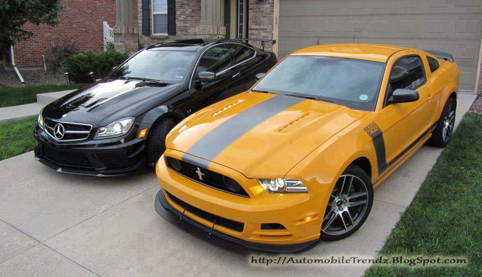 Automobile Trendz: Mercedes-Benz C63 AMG & Ford Mustang
