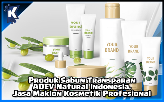 Sabun Transparan ADEV Natural