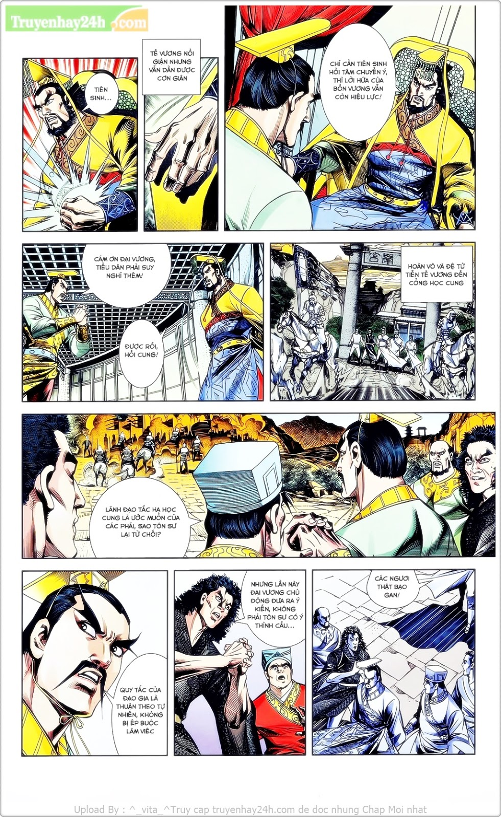 Tần Vương Doanh Chính chapter 23 trang 11