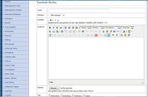 Download Code aplikasi php Akademik Sekolah