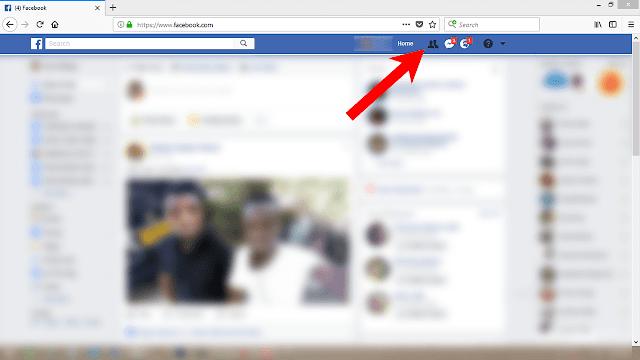 Fungua-akaunti-yako-ya-Facebook-kisha-bonyeza-kwenye-ikoni-ya-Friends-upande-wa-kulia-juu