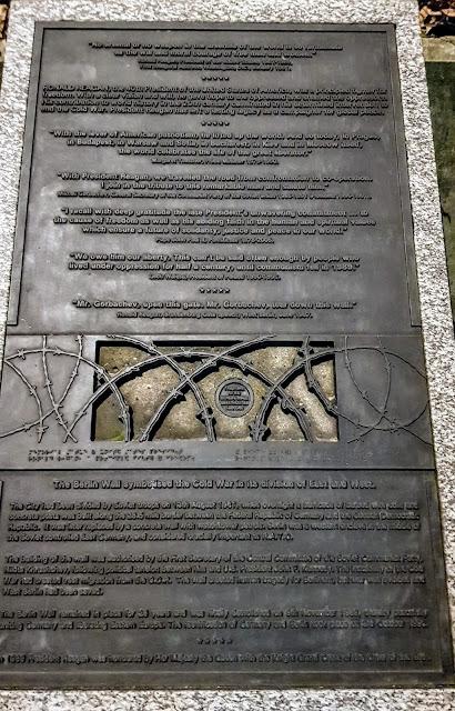 Berlin Wall Grosvenor Square