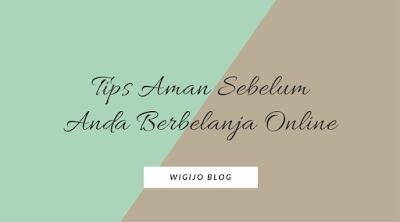 8 tips aman belanja online