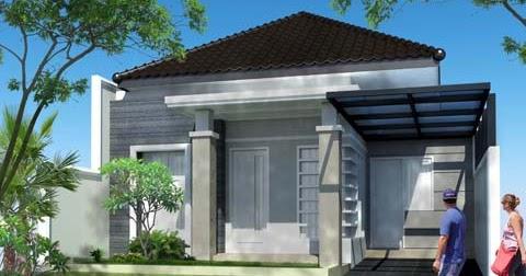 31 Ide Desain Rumah Modern Atap Limas