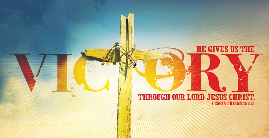 Image result for Jesus' victory