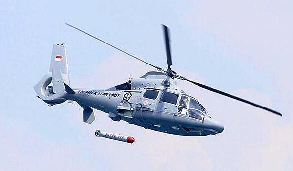 Helikopter AS565 MBe Panther TNI AL
